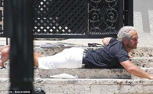 Édgar Ramírez grabando 'The Assassination of Gianni Versace: American Crime Story'