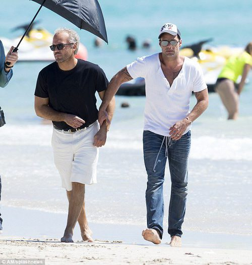 Ricky Martin y Edgar Ramírez actuando en 'The Assassination of Gianni Versace: American Crime Story'
