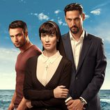 Jesús Castro, Paz Vega y Stany Coppet en 'Perdóname Señor'