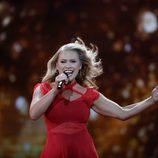 Anja (Dinamarca) en la Segunda Semifinal de Eurovisión 2017