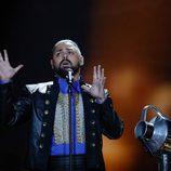 Joci Pápai (Hungría) en la Segunda Semifinal de Eurovisión 2017