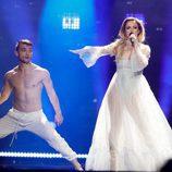 Tijana Bogicevic (Serbia) en la Segunda Semifinal de Eurovisión 2017