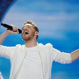 Nathan Trent (Austria) en la Segunda Semifinal de Eurovisión 2017