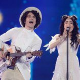 Naviband (Bielorrusia) en la Segunda Semifinal de Eurovisión 2017