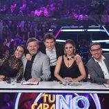 El jurado de 'Tu cara no me suena todavía' y Manel Fuentes, en la novena gala