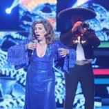 Carmen Cuartero imita a Rocío Dúrcal en la novena gala de 'Tu cara no me suena todavía'