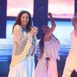 Isabel Sarabia imita a Niña Pastori en la novena gala de 'Tu cara no me suena todavía'