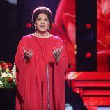 Adrián Quiles imita a María Callas en la novena gala de 'Tu cara no me suena todavía'