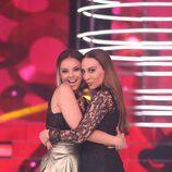 Mónica Naranjo y Chenoa en la novena gala de 'Tu cara no me suena todavía'