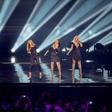 OG3NE (Países Bajos) en la Final de Eurovisión 2017