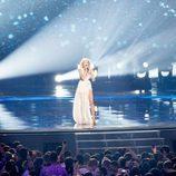 Kasia Mos (Polonia) en la Final de Eurovisión 2017