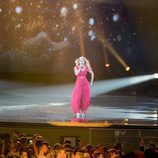 Anja (Dinamarca) en la Final de Eurovisión 2017