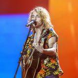 Manel Navarro en el ensayo general de Eurovisión 2017