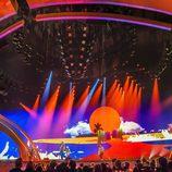 La actuación de Manel Navarro en el ensayo general de Eurovisión 2017