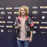 Manel Navarro, tras el ensayo general de Eurovisión 2017