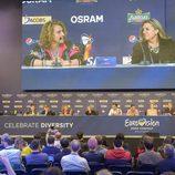 Rueda de prensa del Big Five en Eurovisión 2017