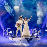 Naviband (Bielorrusia) en la Final de Eurovisión 2017