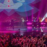 Francesco Gabbani (Italia) en la Final de Eurovisión 2017