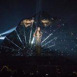 Lucie Jones (Reino Unido) en la Final de Eurovisión 2017