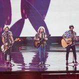 Manel Navarro (España) en la Final de Eurovisión 2017