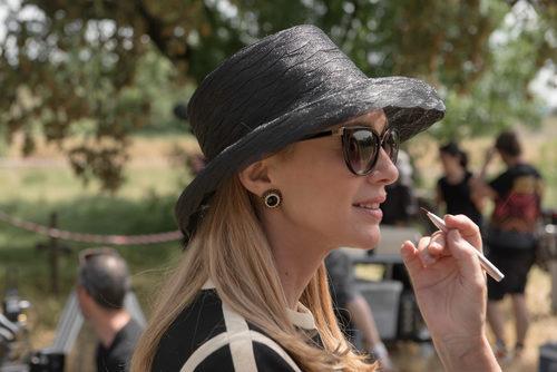 Marta Hazas rodando 'Velvet Colección'