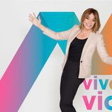 Toñi Moreno presentadora de 'Viva la vida'