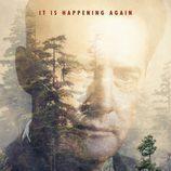 Cartel promocional con el agente Dale Cooper de 'Twin Peaks'