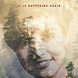 Cartel promocional de 'Twin Peaks' con Laura Palmer