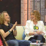 Manel Navarro junto a Toñi Moreno en 'Viva la vida'