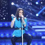 Patricia Aguilar es Laura Pausini en la semifinal de 'Tu cara no me suena todavía'