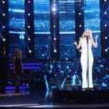 Paula Domínguez es Céline Dion en la semifinal de 'Tu cara no me suena todavía'