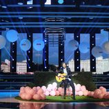 Raúl Ogalla es Manuel Carrasco en la semifinal de 'Tu cara no me suena todavía'