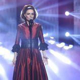 Patricia Aguilar imita a Mónica Naranjo en la final de 'Tu cara no me suena todavía'