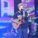 Manel Navarro imita a Ed Sheeran en la final de 'Tu cara no me suena todavía'