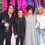 Cuatro finalistas en la última gala de 'Tu cara no me suena todavía'