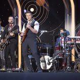 Víctor Elías y su banda en 'No es un sábado cualquiera'