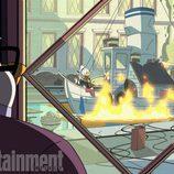 El barco del Pato Donald en 'Patoaventuras'
