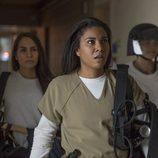Jessica Pimentel, armada hasta los dientes, en la quinta temporada de 'Orange is the New Black'
