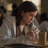 Kimiko Glenn, con expresión maquiavélica en uno de los nuevos capítulos de 'Orange is te New Black'