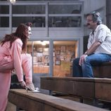 Kate Nash y Marc Maron en el primer capítulo de la primera temporada de 'GLOW'