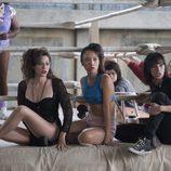 Kia Stevens, Jackie Tohn, Ellen Wong, Rebekka Johnson, Britt Baron y Marianna Palka en la primera temporada de 'GLOW'