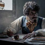 Tamar Novas como Bécquer en 'El Ministerio del Tiempo'