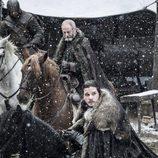 Jon Nieve y Sir Davos a caballo en la séptima temporada de 'Juego de Tronos'