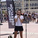 Una aspirante canta en el casting de 'Operación Triunfo 2017' en Barcelona