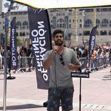 Un aspirante canta en el casting de 'Operación Triunfo 2017' en Barcelona