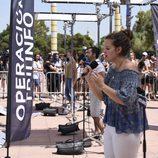 Varios aspirantes cantan en el casting de 'Operación Triunfo 2017' en Barcelona