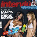 Oriana y Liz en la portada de Interviú