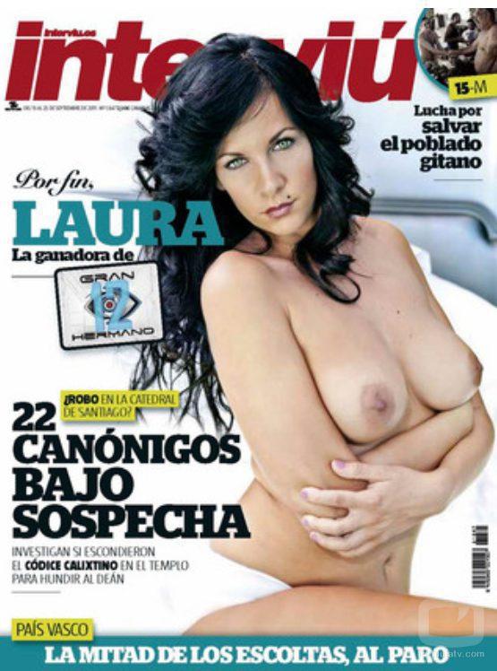 Laura Campos ('MYHYV') desnuda en la portada de la revista Interviú