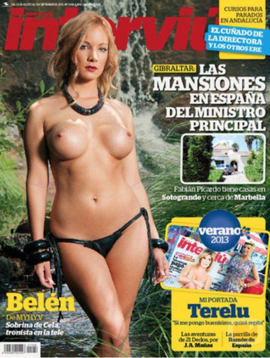Belén Roca ('MYHYV') posa desnuda en la portada de la revista Interviú