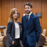 Jon Arias y Alba Ribas juntos en la nueva ficción de La 1, 'Derecho a soñar'